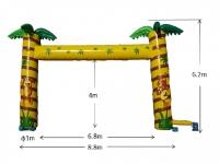 (13)6.8m門型ヤシの木